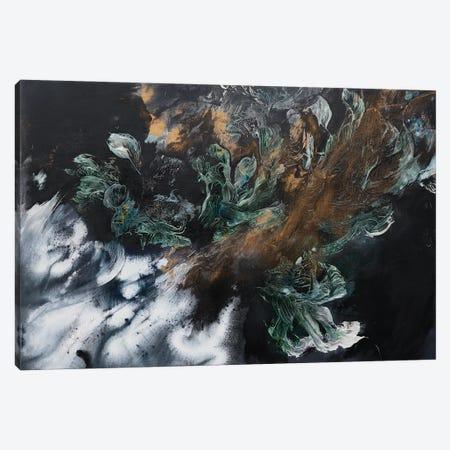 Emeralds Garden Canvas Print #FWA84} by Françoise Wattré Canvas Print