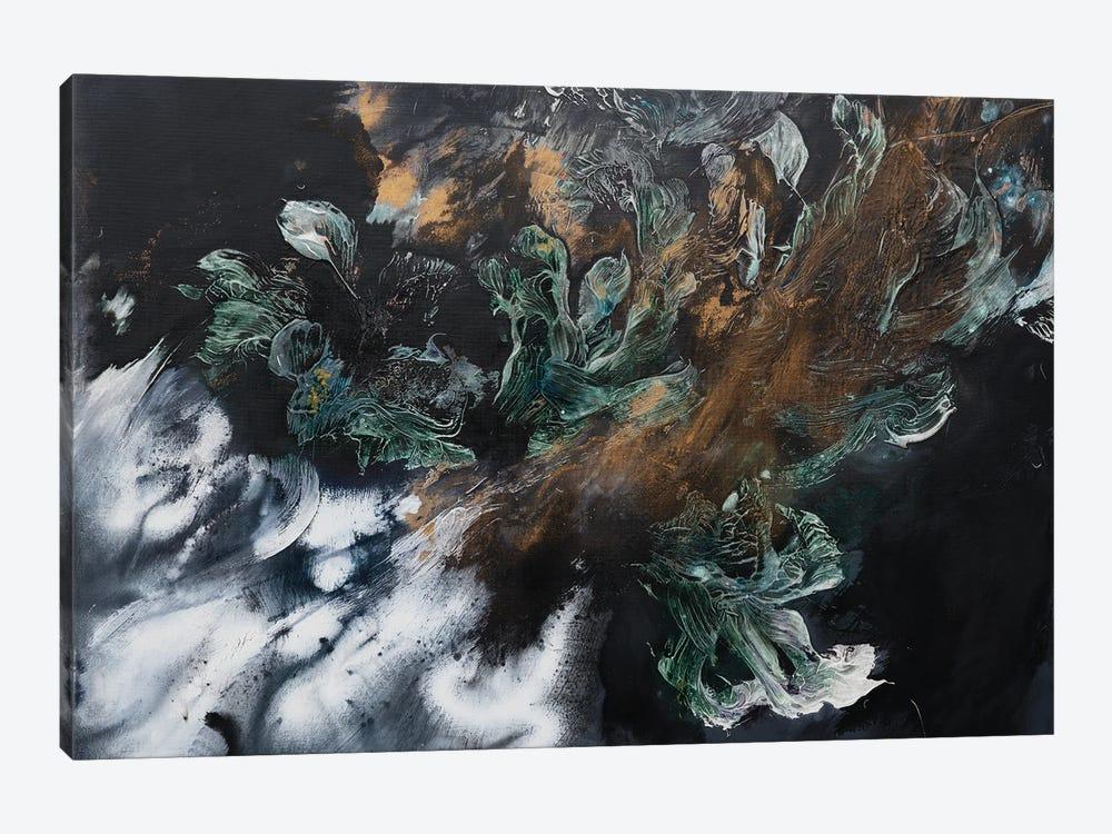 Emeralds Garden by Françoise Wattré 1-piece Canvas Art Print