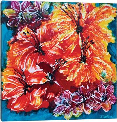Florida Feeling Canvas Art Print