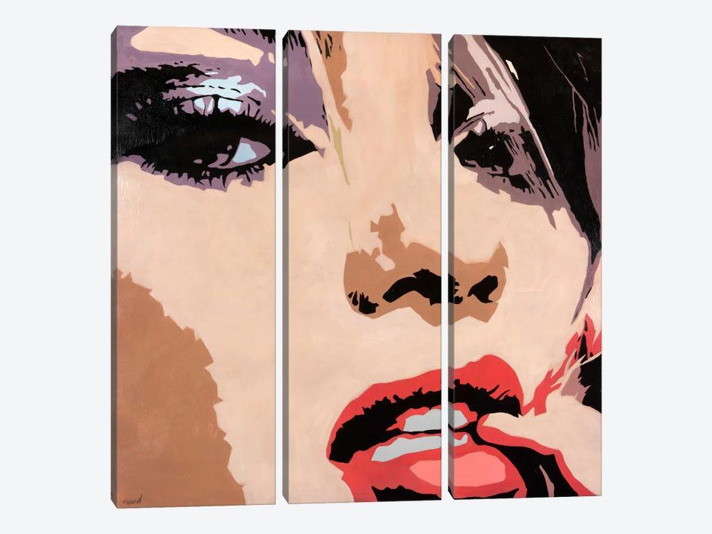 Entice by Francis Ward 3-piece Canvas Wall Art