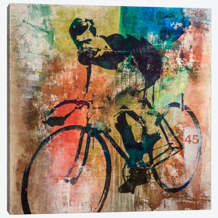 Bike Race Canvas Print #FWD1} by Francis Ward Canvas Artwork