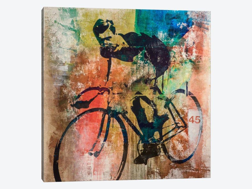 Bike Race by Francis Ward 1-piece Canvas Artwork
