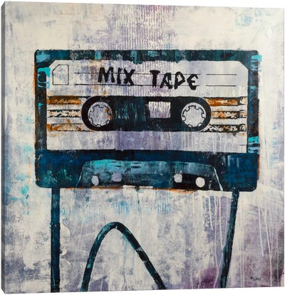Mix Tape Canvas Art Print