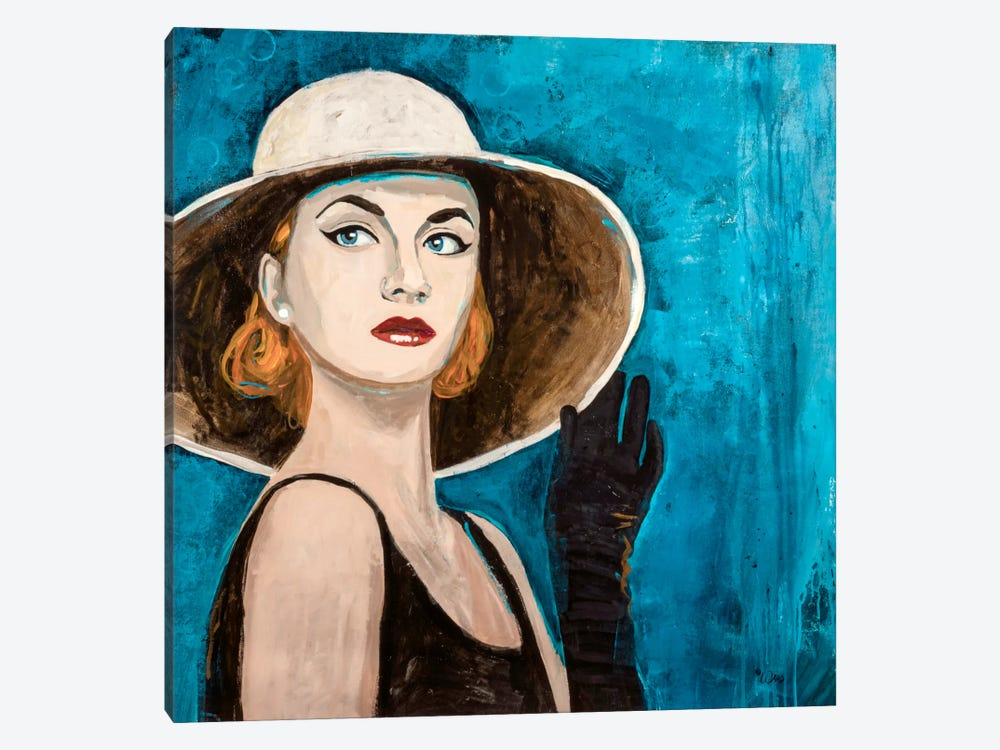 High Tea by Francis Ward 1-piece Canvas Art