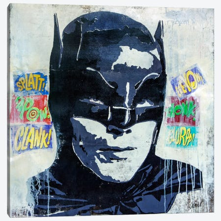 Kapow Canvas Print #FWD8} by Francis Ward Canvas Wall Art