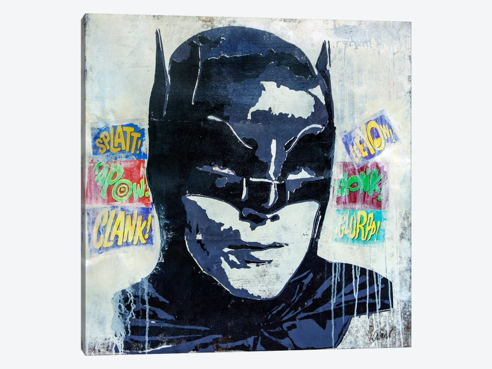 Kapow by Francis Ward 1-piece Art Print