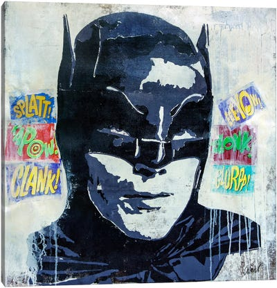 Kapow Canvas Art Print