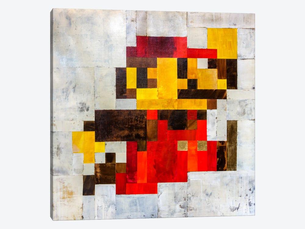 Post Modern Mario by Francis Ward 1-piece Canvas Artwork