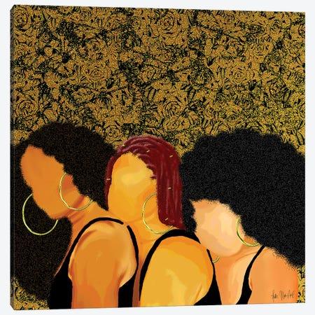 I Got My Sis Canvas Print #FWE13} by Faith with an E Canvas Print