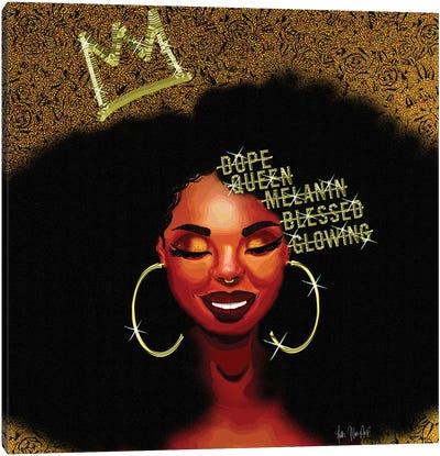 Smile Queen Canvas Art Print