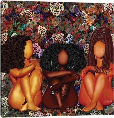 Melanin Baez Canvas Art Print