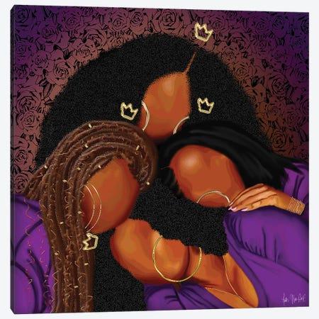 Keep Her Canvas Print #FWE22} by Faith with an E Canvas Artwork