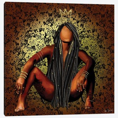 Queen Dread Canvas Print #FWE24} by Faith with an E Canvas Art Print