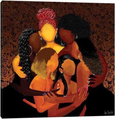 Sister Squad Canvas Art Print