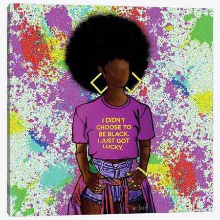 Lucky Canvas Print #FWE30} by Faith with an E Canvas Art Print