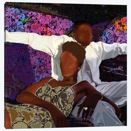 Queen & Slim Canvas Print #FWE37} by Faith with an E Canvas Art