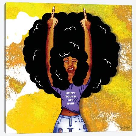 I Got Good Hair V Canvas Print #FWE44} by Faith with an E Canvas Print