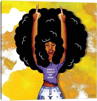 I Got Good Hair V Canvas Art Print