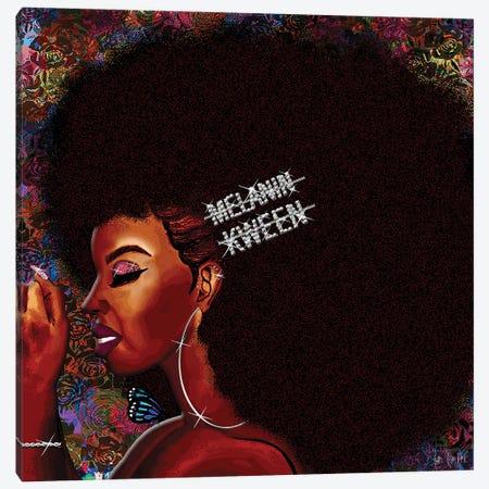 Kweenie Canvas Print #FWE48} by Faith with an E Canvas Artwork