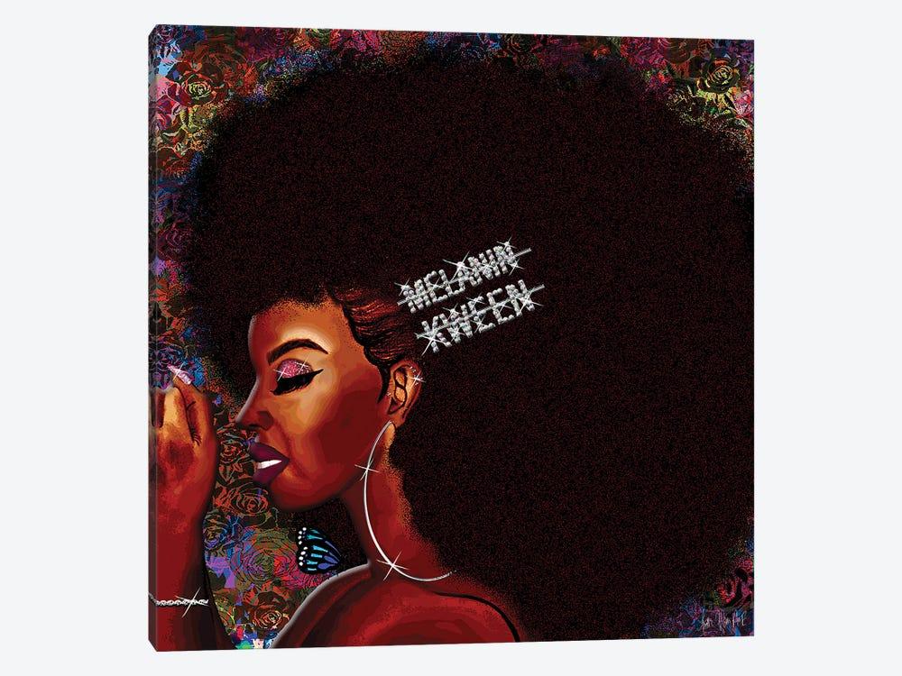 Kweenie by Faith with an E 1-piece Canvas Art