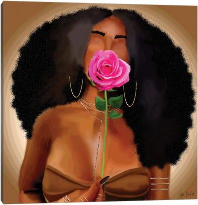 Ebony Canvas Art Print