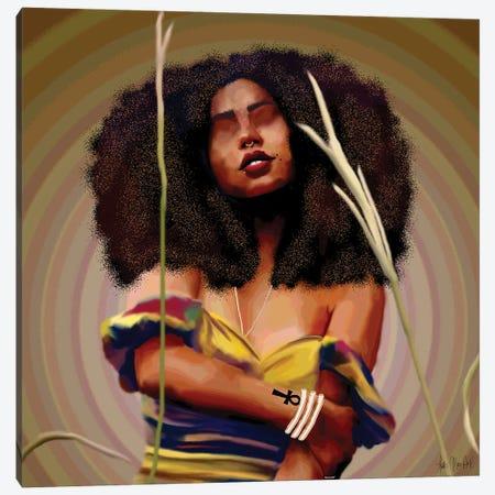 Sativa Canvas Print #FWE56} by Faith with an E Canvas Artwork