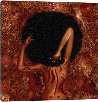 Self Love Canvas Art Print