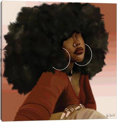 Ayesha Canvas Art Print