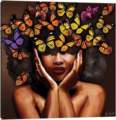 Lady Free Canvas Art Print