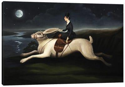 Night Rider Canvas Art Print