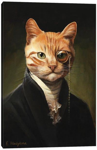 Sir Ginger O'Sullivan Canvas Art Print