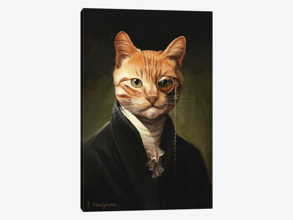 Sir Ginger O'Sullivan by Foxy & Paper 1-piece Canvas Print