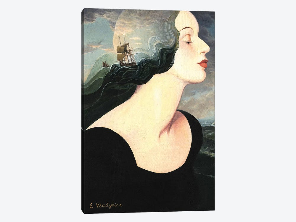 Undine by Foxy & Paper 1-piece Canvas Artwork