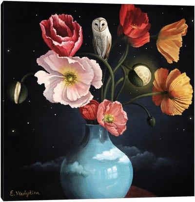 Blooming Moon Canvas Art Print