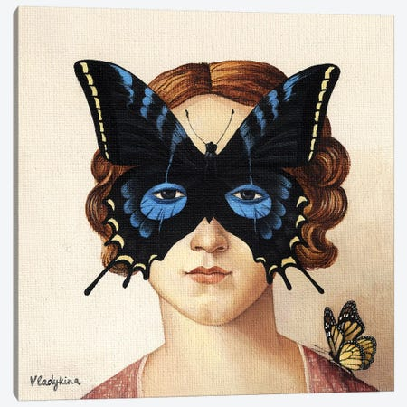 Butterfly Canvas Print #FXP4} by Foxy & Paper Canvas Print