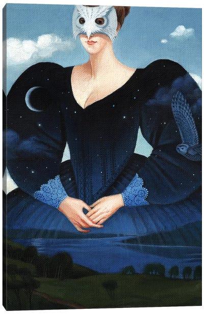Evening Dress Canvas Art Print