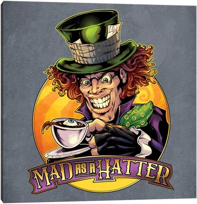 Mad Hatter Canvas Art Print