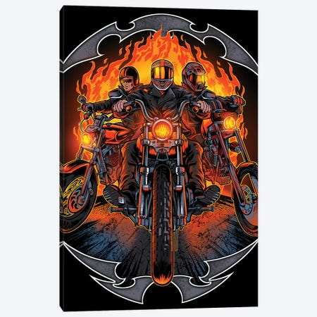Motorcycles Canvas Print #FYD26} by Flyland Designs Canvas Print