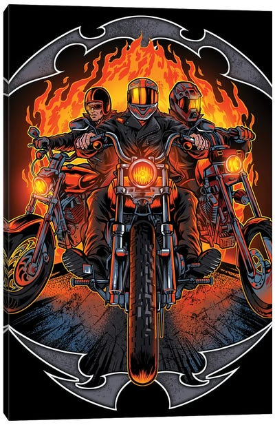 Motorcycles Canvas Art Print