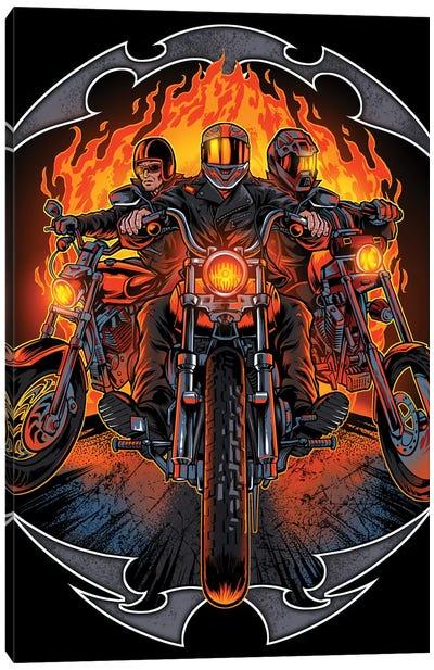 Motorcycles Canvas Art Print