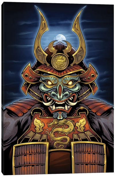 Samurai Canvas Art Print