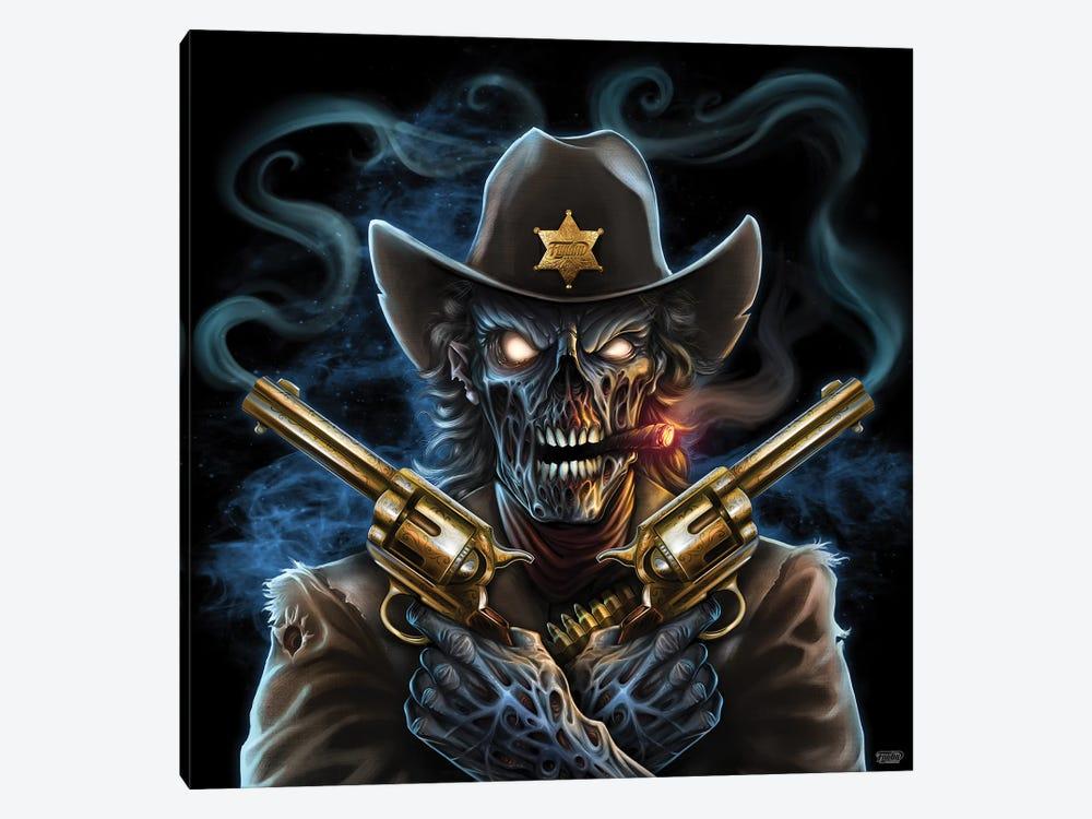 Undead Gunslinger by Flyland Designs 1-piece Art Print