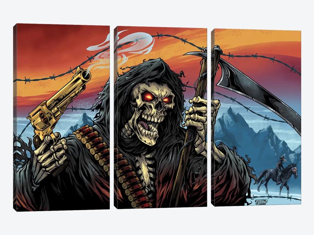 Western Grim Reaper by Flyland Designs 3-piece Canvas Art
