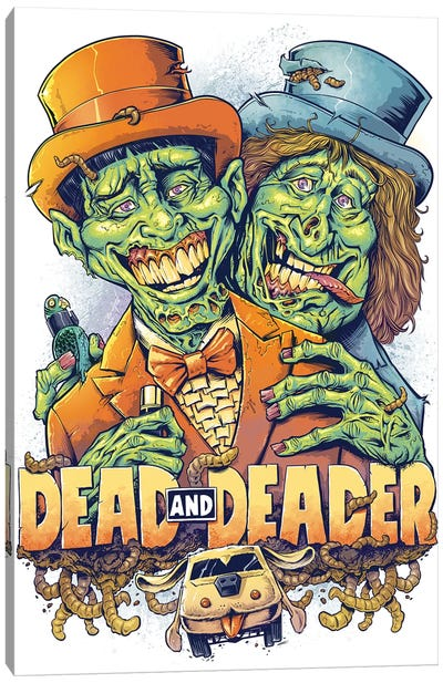 Dead and Deader Canvas Art Print