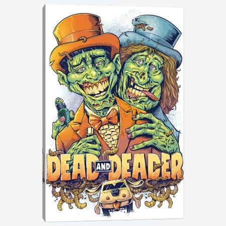 Dead and Deader Canvas Print #FYD7} by Flyland Designs Art Print