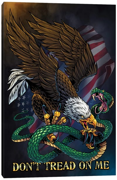 Don't Tread On Me Canvas Art Print