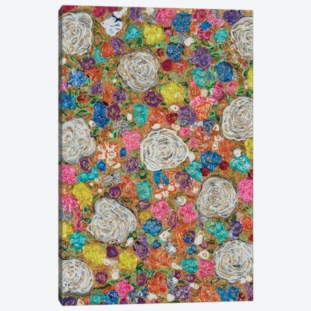 Florals III Canvas Print #FYL10} by Florencio Yllana Art Print