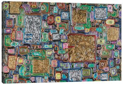 Splendor Block Series I Canvas Art Print