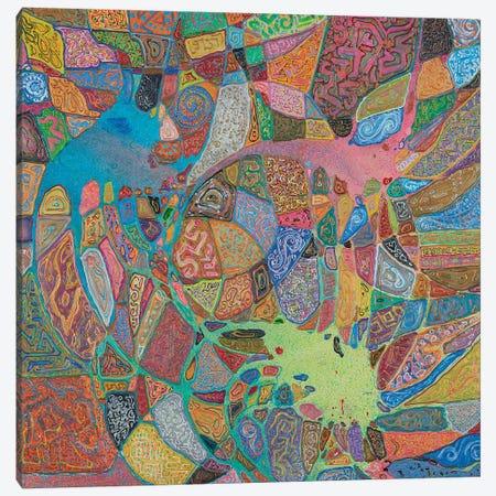Magma Magic Canvas Print #FYL20} by Florencio Yllana Canvas Artwork