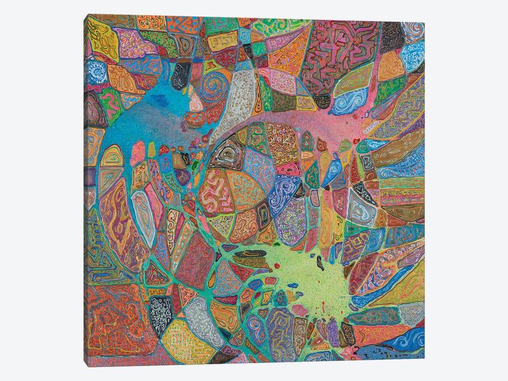 Magma Magic by Florencio Yllana 1-piece Canvas Art Print